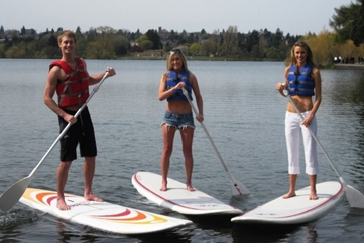Stand Up Paddle Tour mit Coach